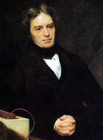 Michael Faraday 1842 Portrait