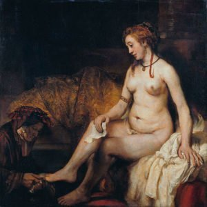 Bathsheba at Her Bath (1654) - Rembrandt van Rijn