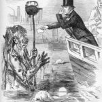 Faraday River Thames Caricature