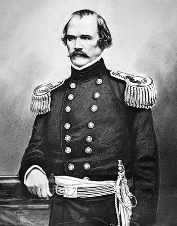 Albert Sidney Johnston in 1860-62