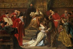 Cordelia in the Court of King Lear