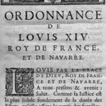 1667 Code Louis page