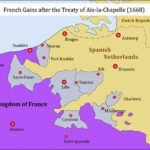 French gains from the War of Devolution