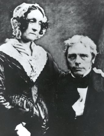 Michael Faraday and Sarah Barnard