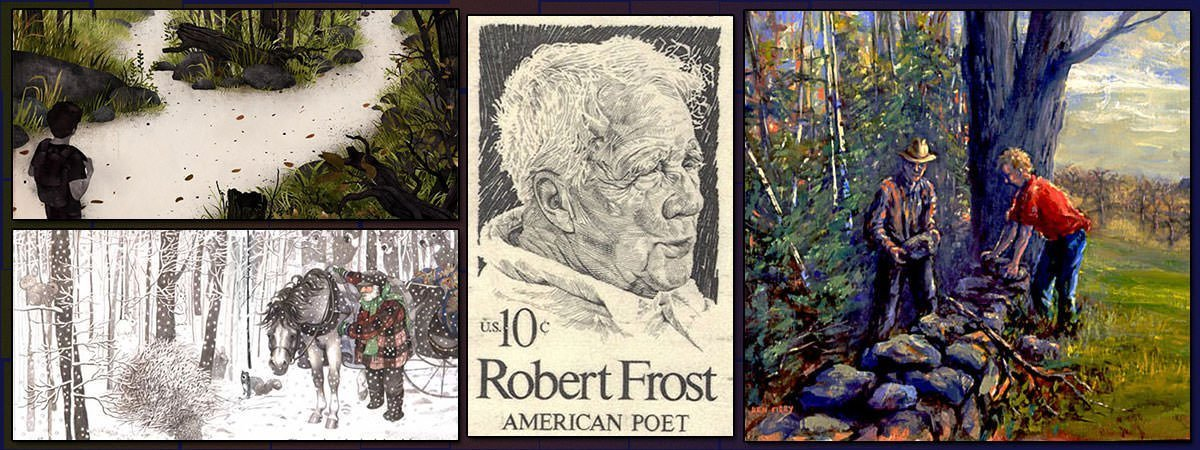 10 Most Famous Poems by Robert Frost | Learnodo Newtonic