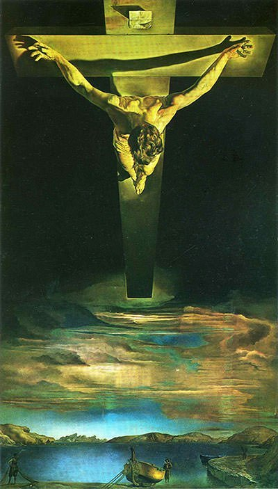 Christ of St John of the Cross (1951) - Salvador Dali