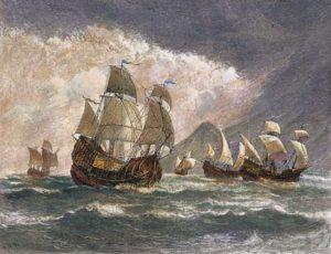 5 ships of Ferdinand Magellan's expedition