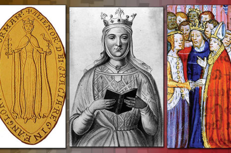 the interesting life of eleanor of aquitaine Heir at 15 to the vast realm of aquitaine, eleanor was quite a character first queen of france and then queen of england eleanor of aquitaine had high standards.