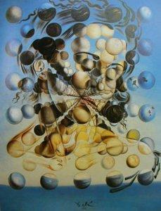 Galatea of the Spheres (1952) - Salvador Dali
