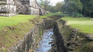 Maya Aqueduct at Palenque