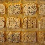 Maya glyphs