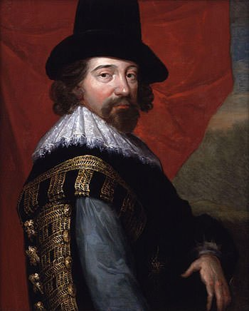 Sir Francis Bacon portrait (1618)