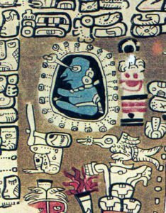 Maya astronomer from the Madrid Codex