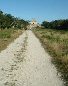 Maya Sacbe or elevated road