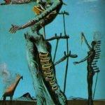 The Burning Giraffe (1937) - Salvador Dali