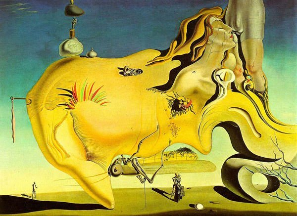 The Great Masturbator (1929) - Salvador Dali