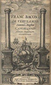 Novum organum title page