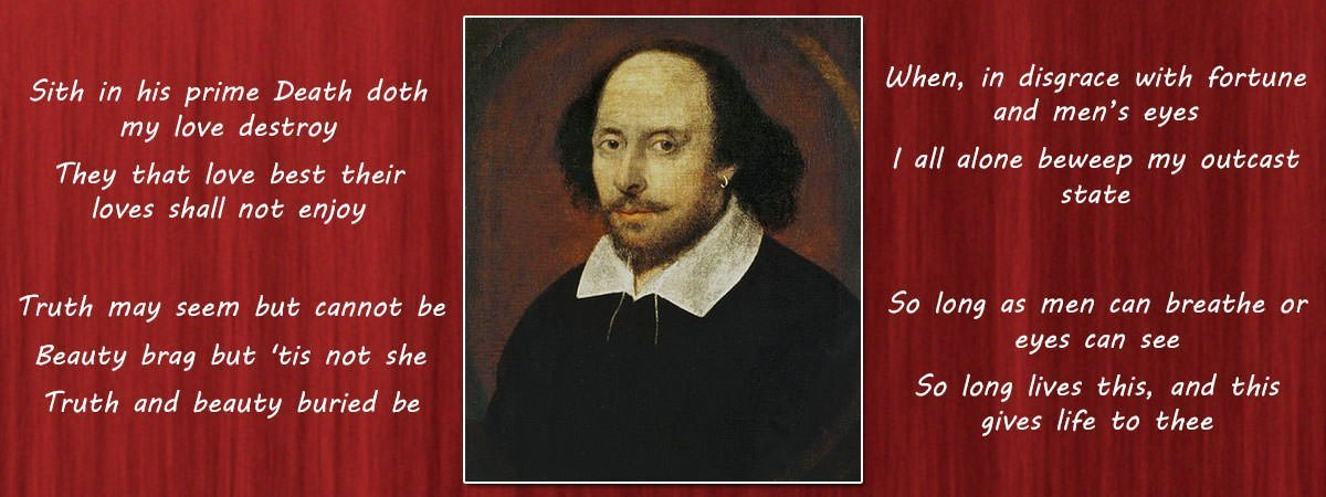 10 Most Famous Poems by William Shakespeare
