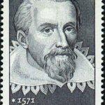 Johannes Kepler 1971 German stamp