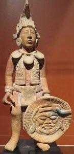 Figurine of Maya warrior