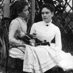 Helen Keller and Anne Sullivan in 1888