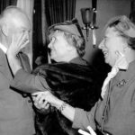 Helen Keller and Dwight D. Eisenhower