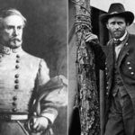 John C. Pemberton and Ulysses S. Grant