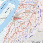 Battle of Vicksburg Map, June 23 - July 4, 1863