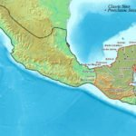 Map of Maya civilization