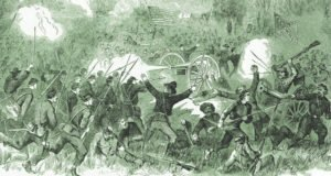 Battle of Champion Hill Sketch