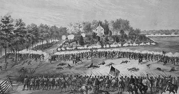 Battle of Jackson Sketch