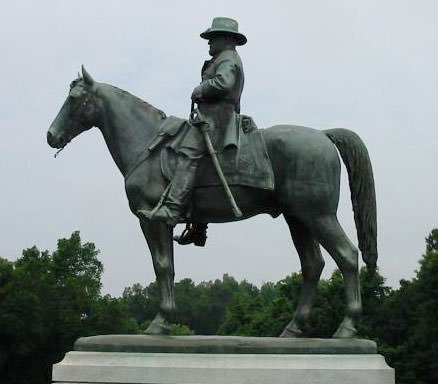 Statue of General Ulysses S. Grant at Vicksburg