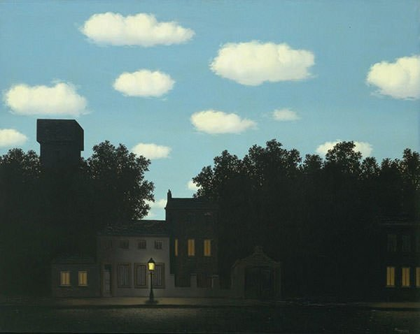 The Empire of Light (1954) - Rene Magritte