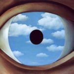 The False Mirror (1928) - Rene Magritte