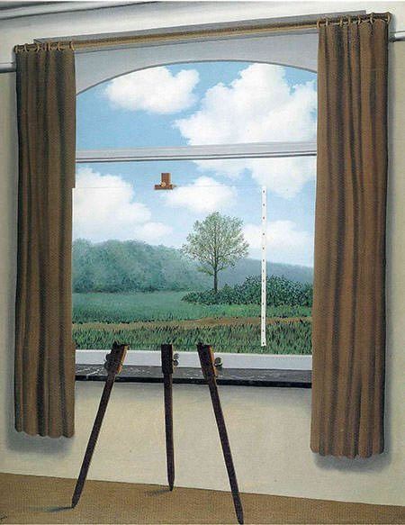 Not to be Reproduced (1937) - Rene Magritte