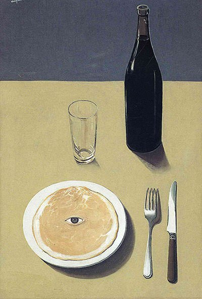 The Portrait (1935) - Rene Magritte