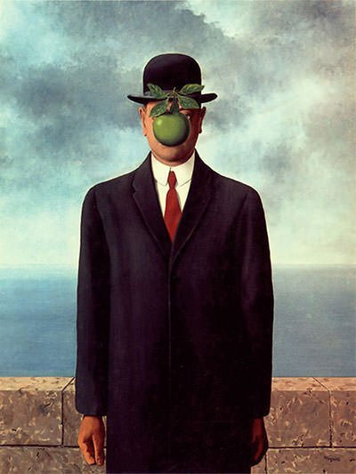 The Son of Man (1964) - Rene Magritte