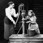 The waterpump scene from the broadway play The Miracle Worker