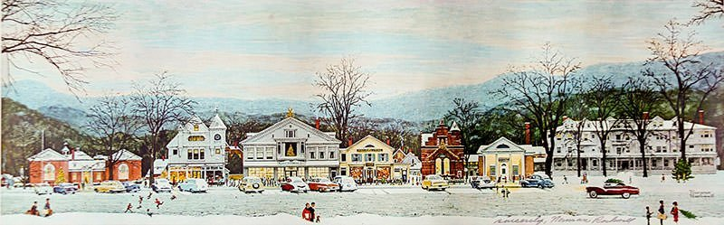 Home for Christmas (1967) - Norman Rockwell