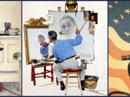 Norman Rockwell Famous Paintings Featured
