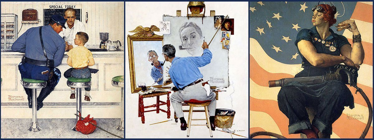 10 Most Famous Paintings By Norman Rockwell Learnodo Newtonic