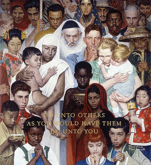 Freedom from Want (1943) - Norman Rockwell