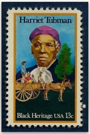 Harriet Tubman 1978 Postage stamp