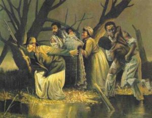 Harriet Tubman on a rescue mission