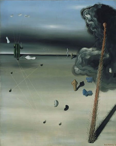 Mama Papa is Wounded (1927) - Yves Tanguy