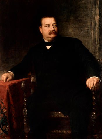 Grover Cleveland Official Portrait