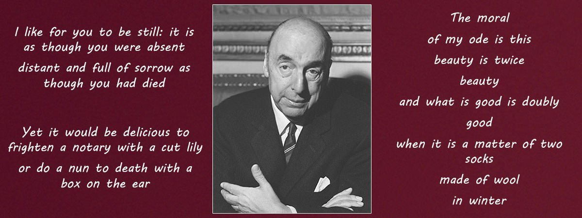10 Most Famous Poems By Pablo Neruda | Learnodo Newtonic