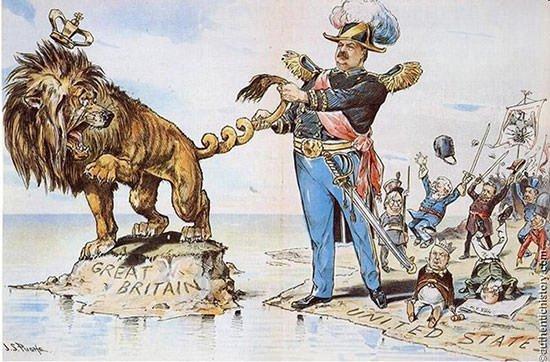 President Cleveland Venezuelan crisis cartoon