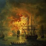 The Battle of Chesma, 1771