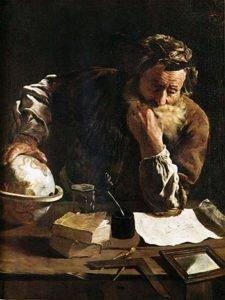 Archimedes 1620 Portrait